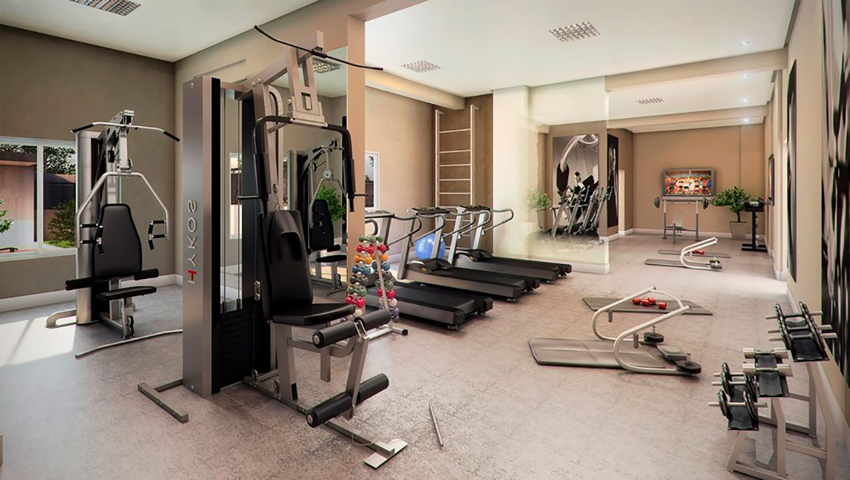 Fitness do Terra Barth Residence